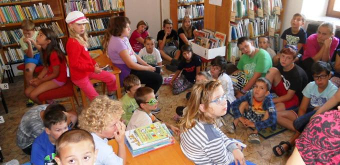 Návštěva městské knihovny