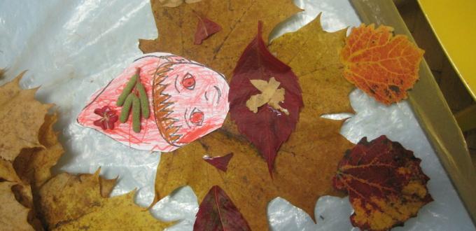 Podzimní tvoření v MŠ
