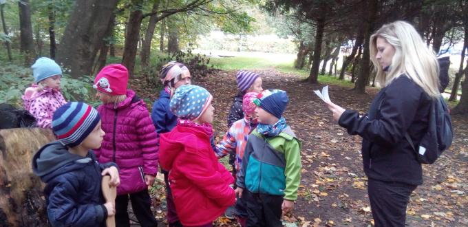 Zamykání lesa a podzimní přírody
