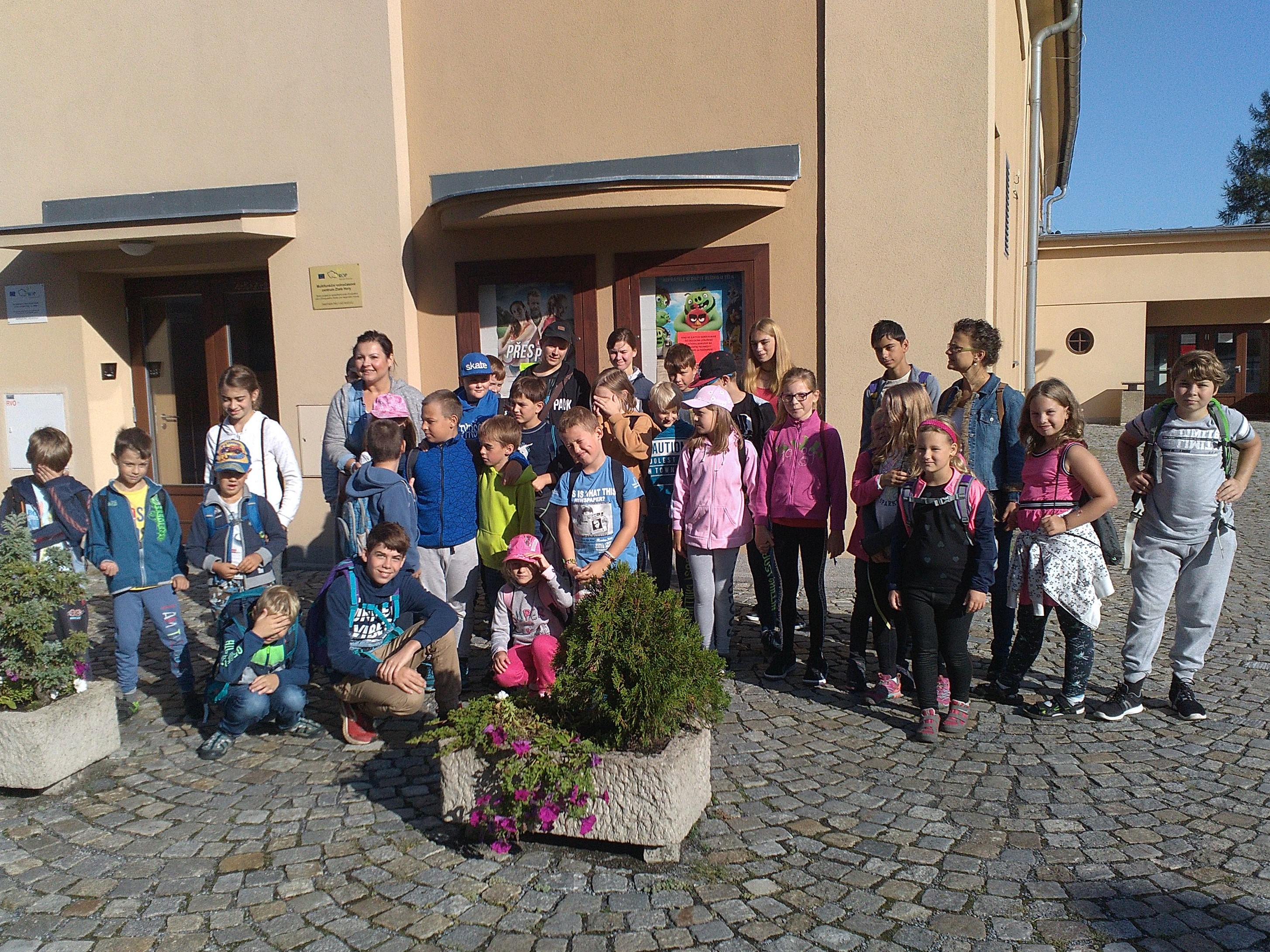 ZŠ – Návštěva knihovny, září 2019