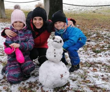 První sníh 2020